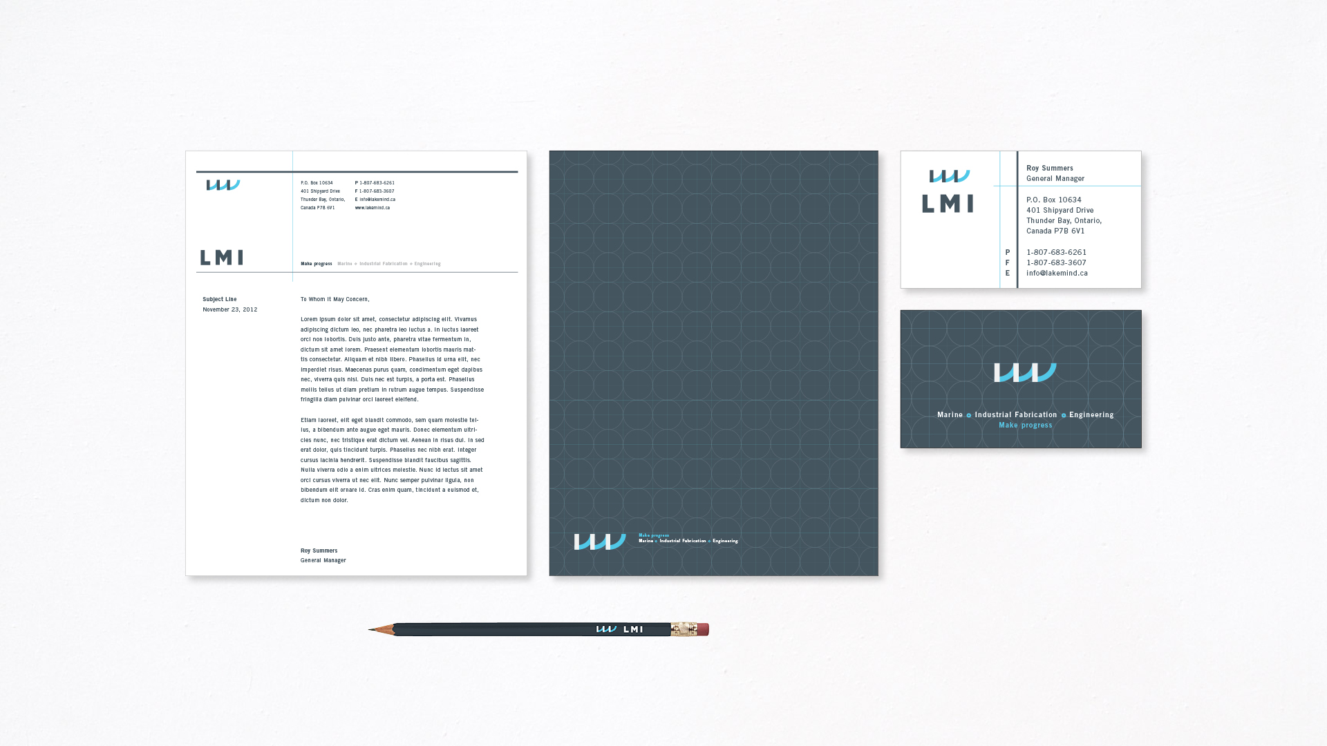 Lakhead Marine Industrial Stationery