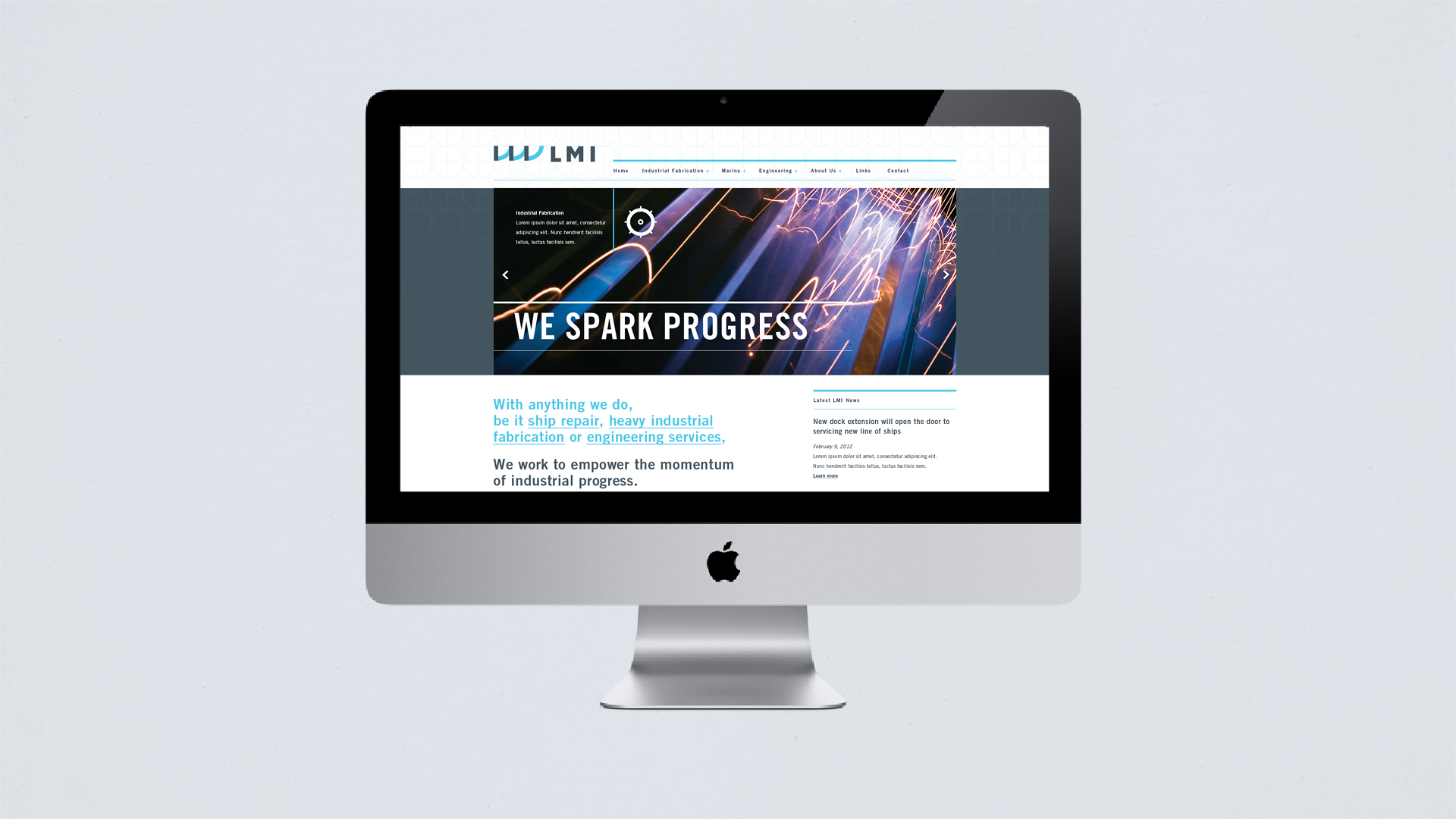 Lakhead Marine Industrial Website