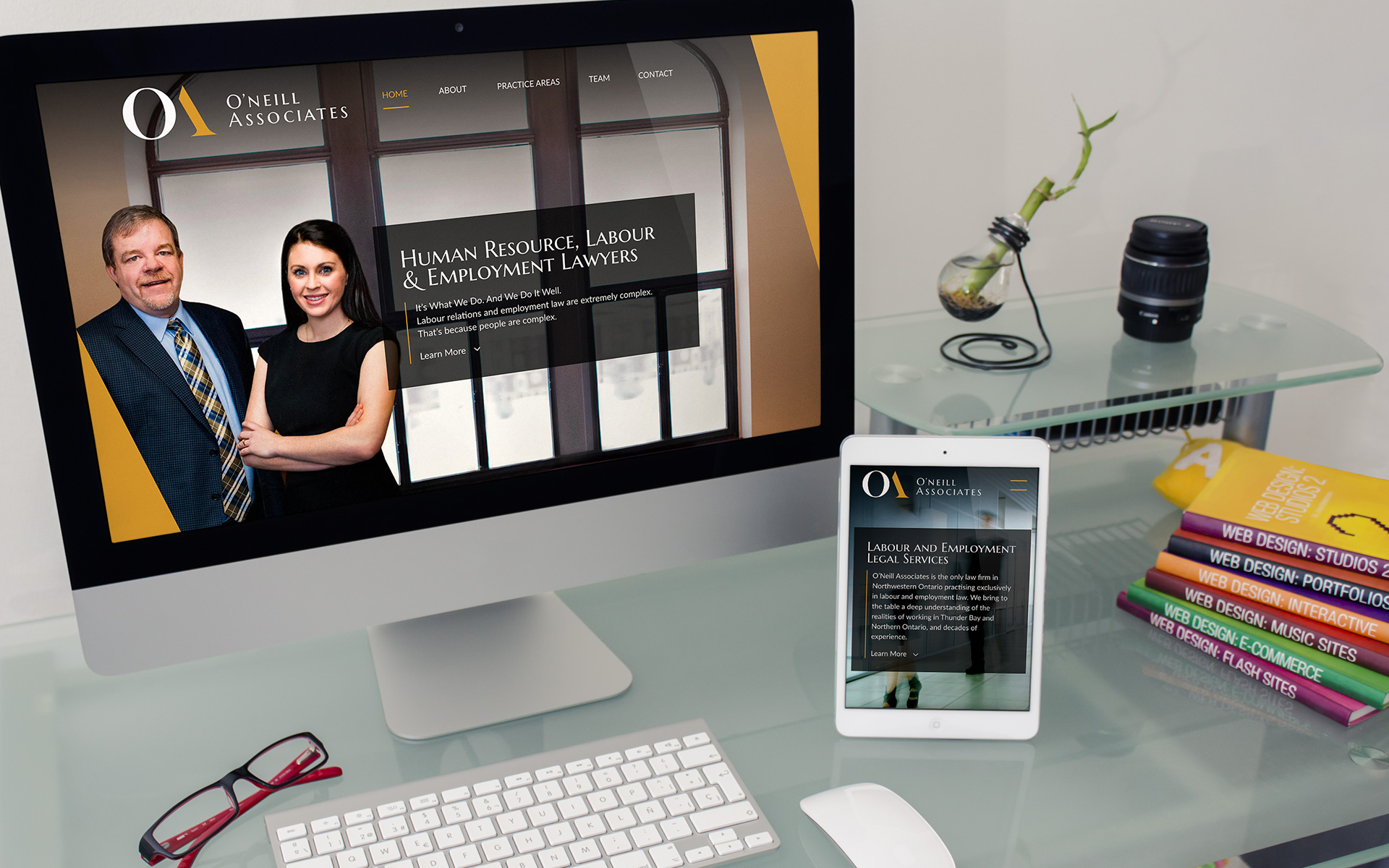O'Neill Associates Website