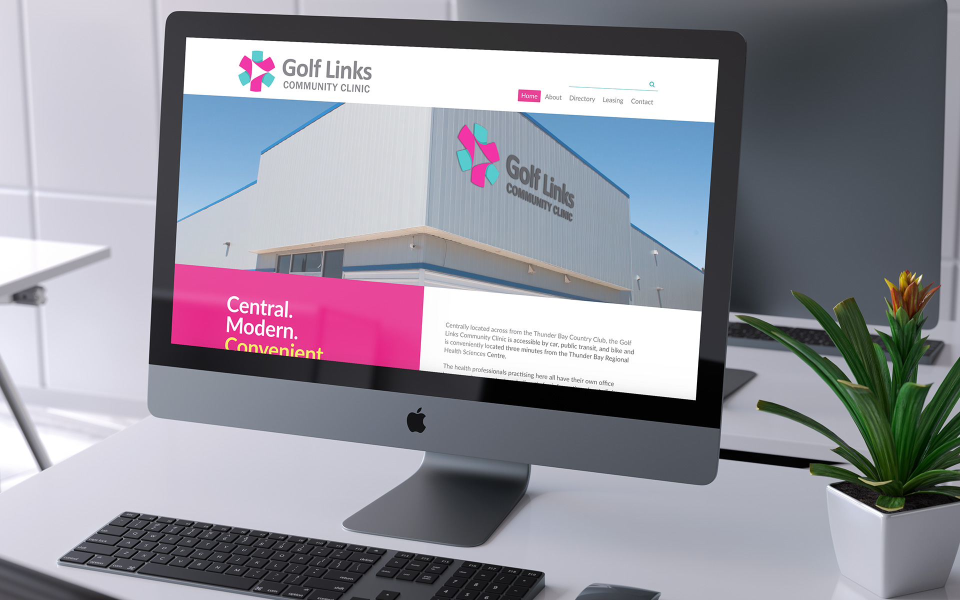 Golf Links Community Clinic Website