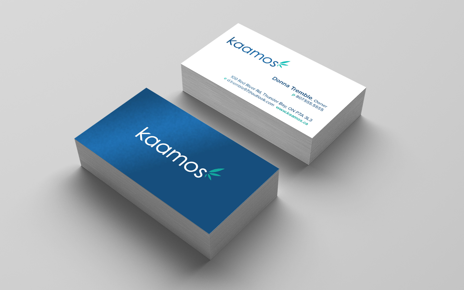 Kaamos Business Cards